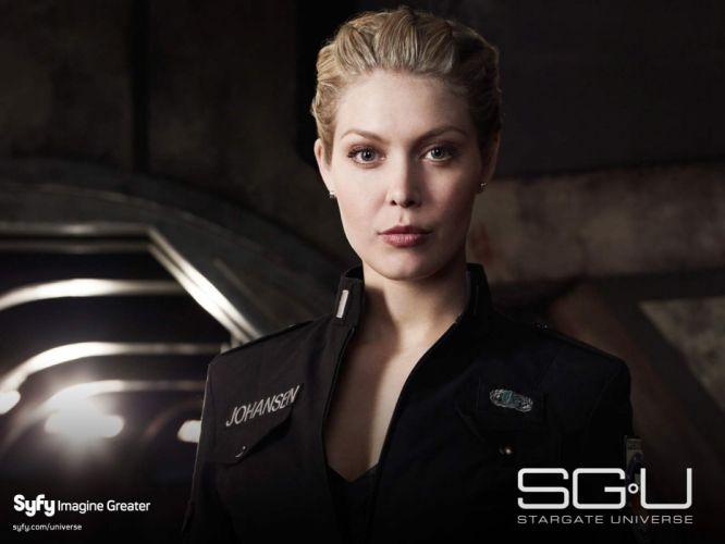 blondes women Stargate Universe wallpaper
