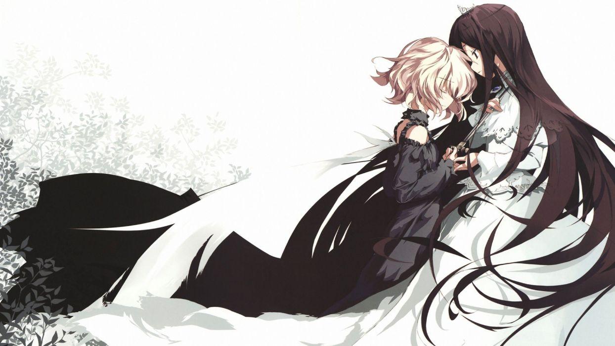anime daggers anime girls wallpaper
