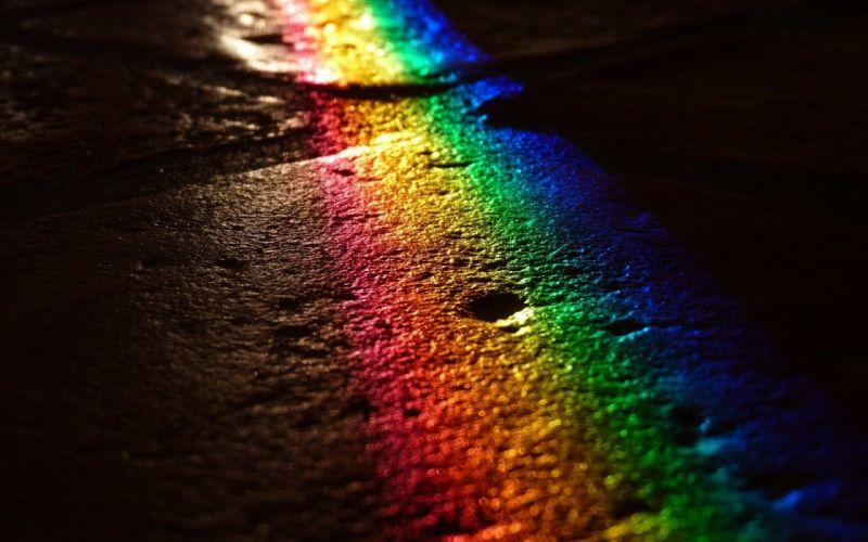 Rainbow Road wallpaper
