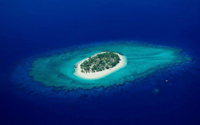 landscapes islands sea wallpaper