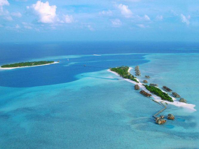 ocean Maldives wallpaper