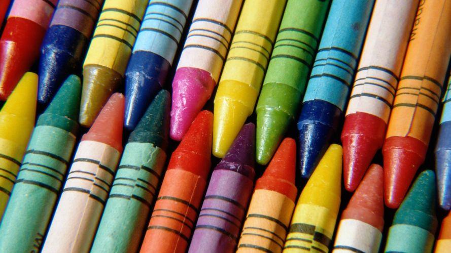 crayons wallpaper