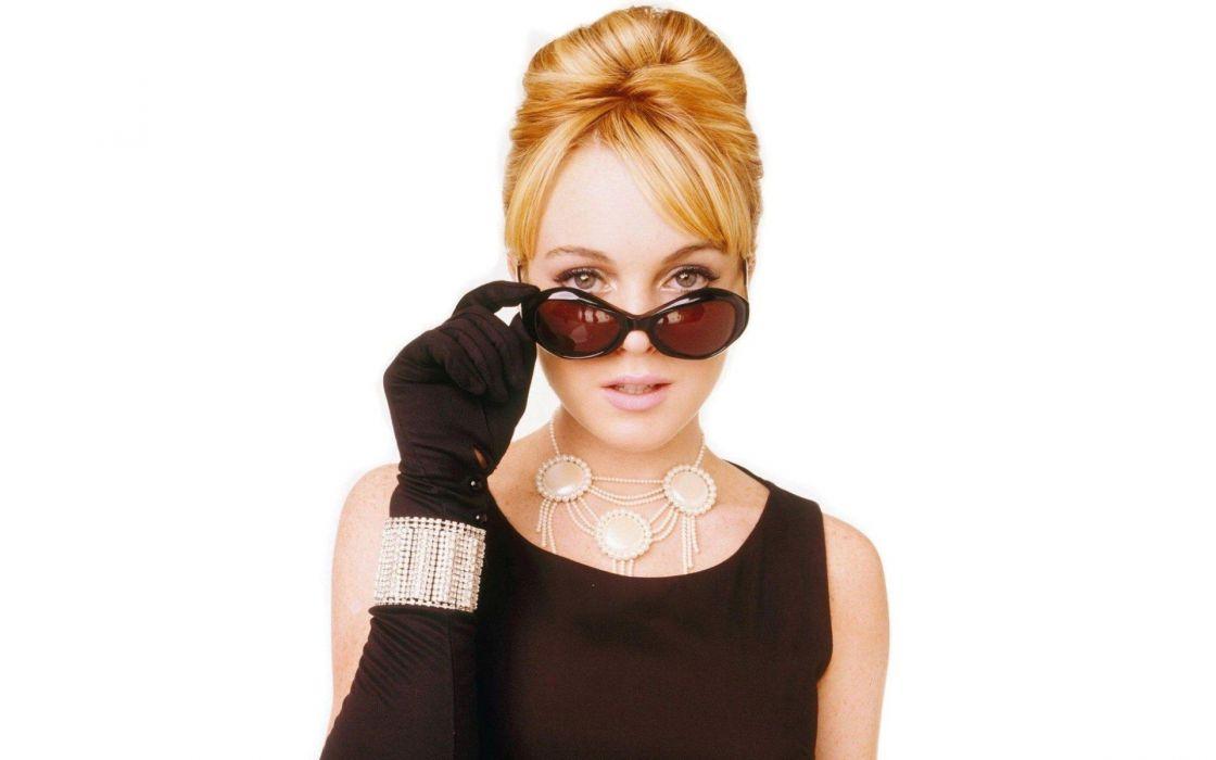 women redheads Lindsay Lohan wallpaper