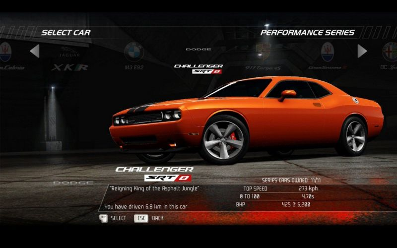 video games cars Dodge Challenger Need for Speed Hot Pursuit Dodge Challenger SRT8 pc games wallpaper