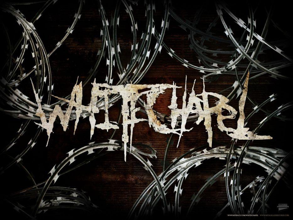 music razor band Deathcore white chapel wallpaper
