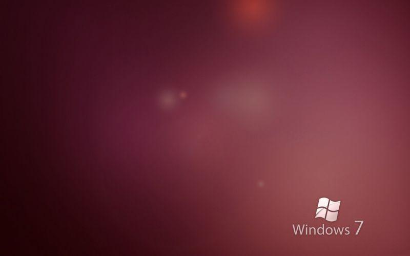 Windows 7 logos wallpaper