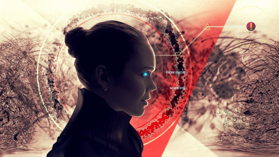 women digital art artwork wallpaper