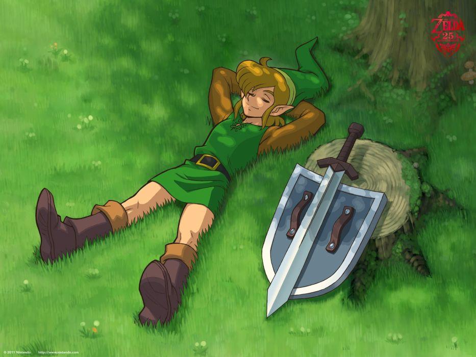 video games Link The Legend of Zelda retro games wallpaper