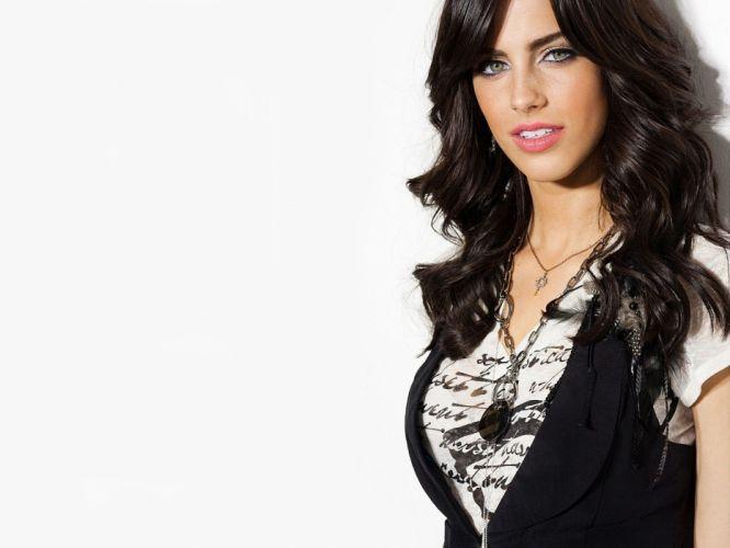 brunettes women models celebrity Jessica Lowndes wallpaper