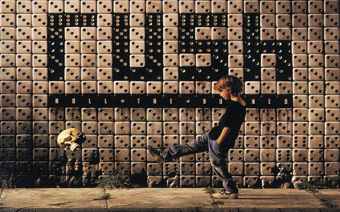 skulls dice pavement music bands album covers kicking Roll The Bones Rush (band) wallpaper