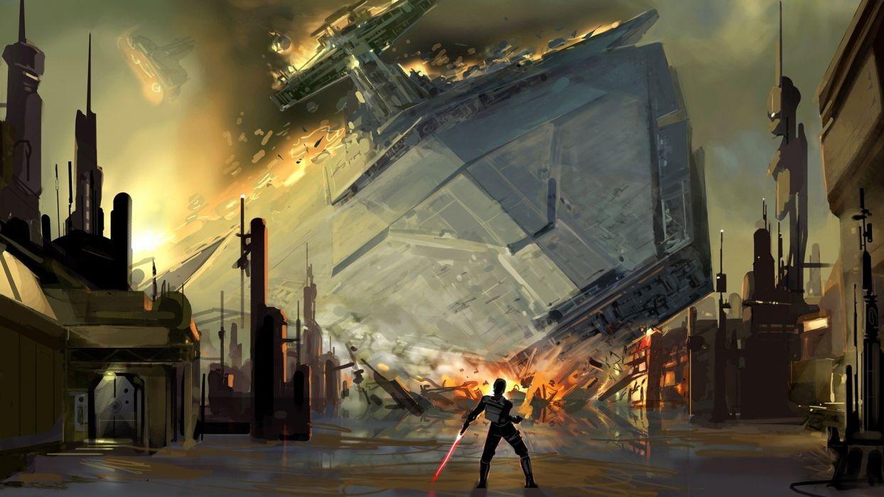 Star Wars Digital Art Artwork Wallpaper 1920x1080 307894 Wallpaperup