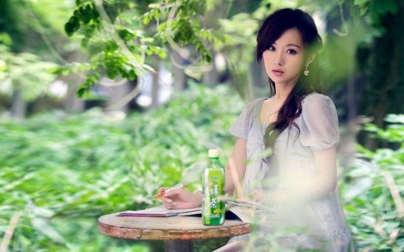 models Asians wallpaper