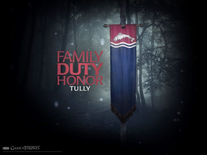 family Game of Thrones A Song of Ice and Fire TV series banner George R_ R_ Martin House Tully wallpaper