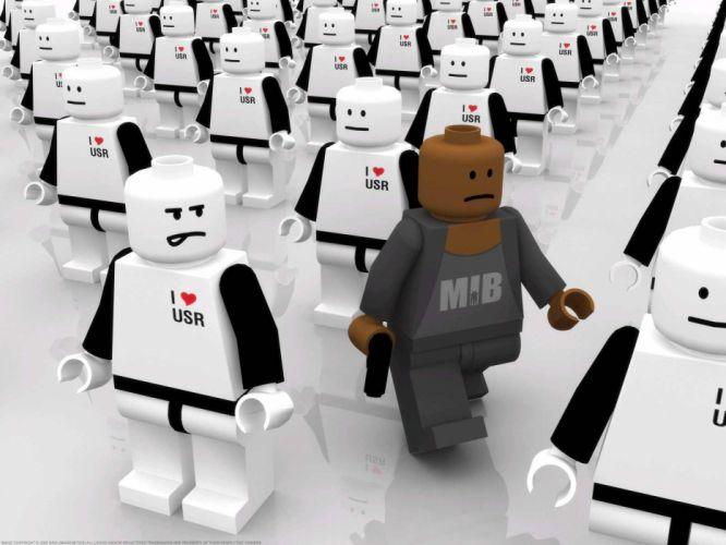 racism Legos wallpaper