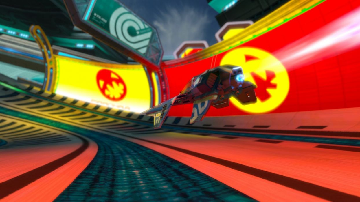 video games futuristic Wipeout science fiction Wipeout HD fan art wallpaper