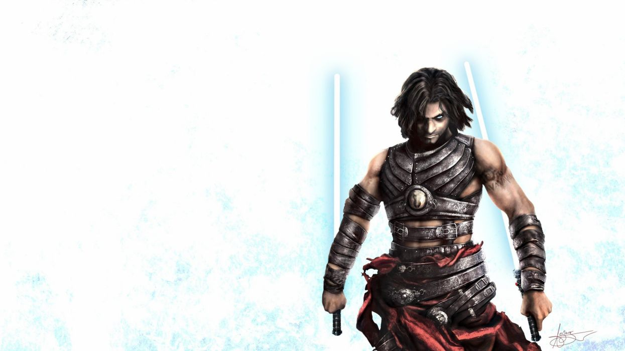 Star Wars video games lightsabers Prince of Persia prince Starkiller simple background wallpaper
