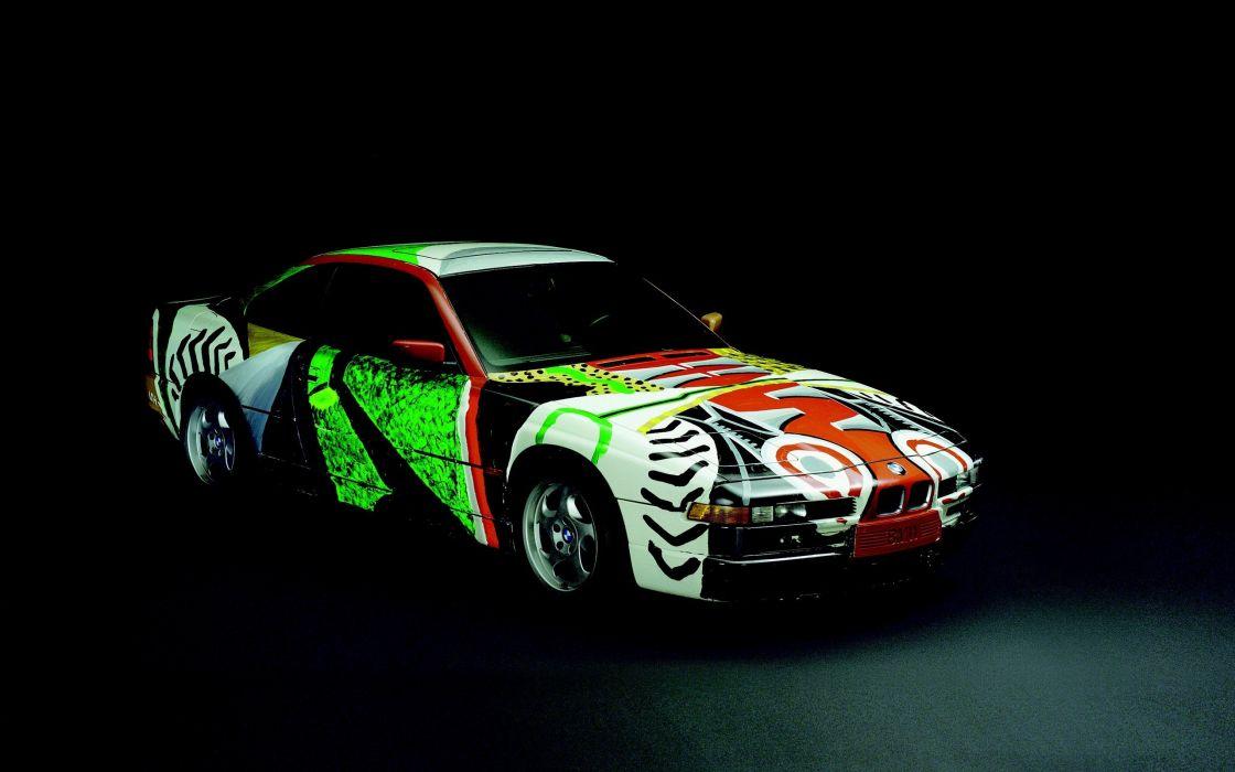 cars BMW Art Car wallpaper