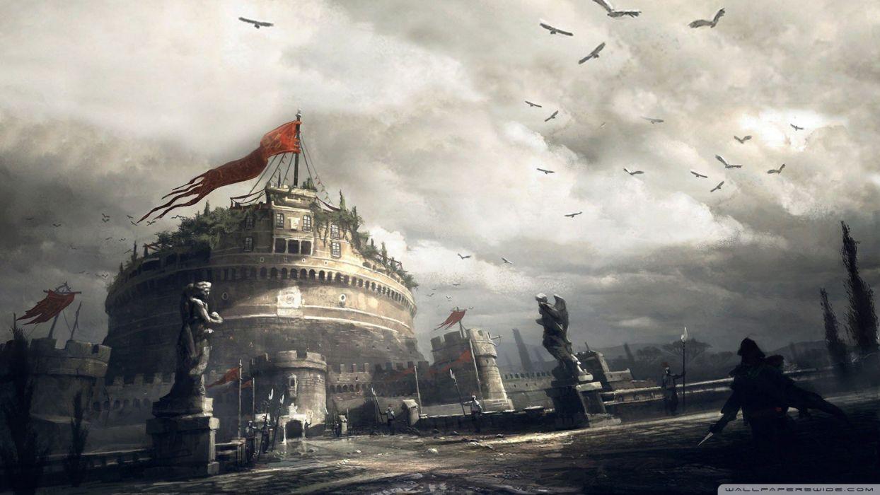 Video Games Assassins Creed Assassins Brotherhood Assassins