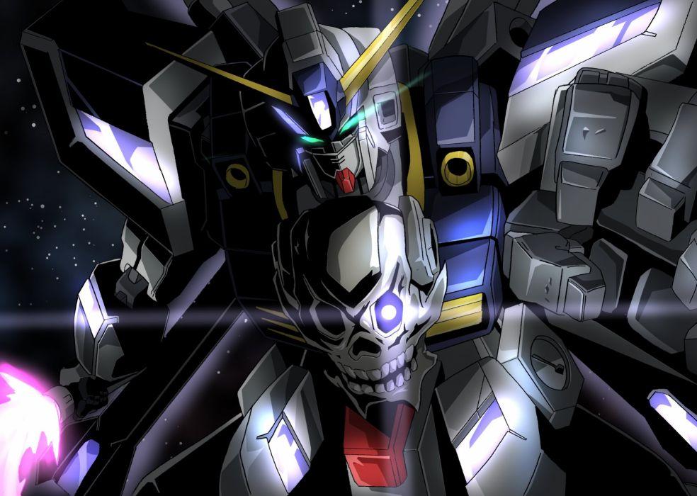 Gundam Build Fighters Crossbone Gundam Maoh mecha armor skull warrior    g wallpaper