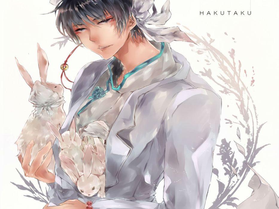 Hoozuki no Reitetsu Hakutaku easter bunny rabbit mood     hf wallpaper