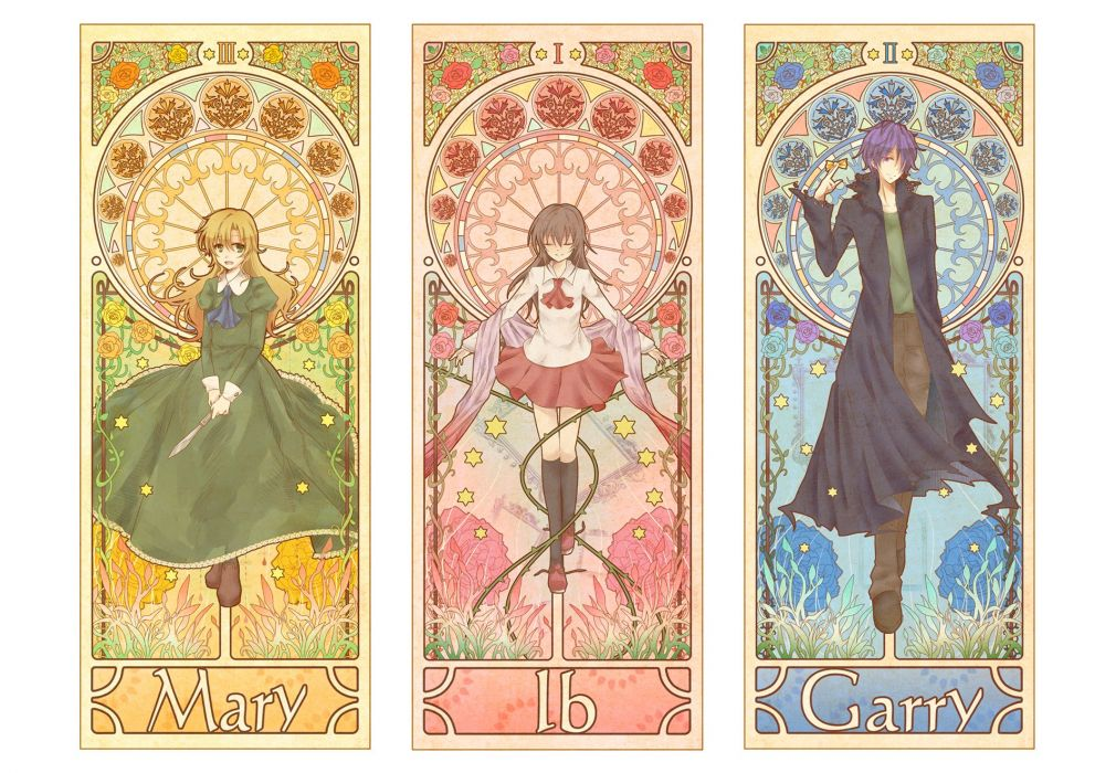 I-B ib-anime mary garry collage poster    h wallpaper