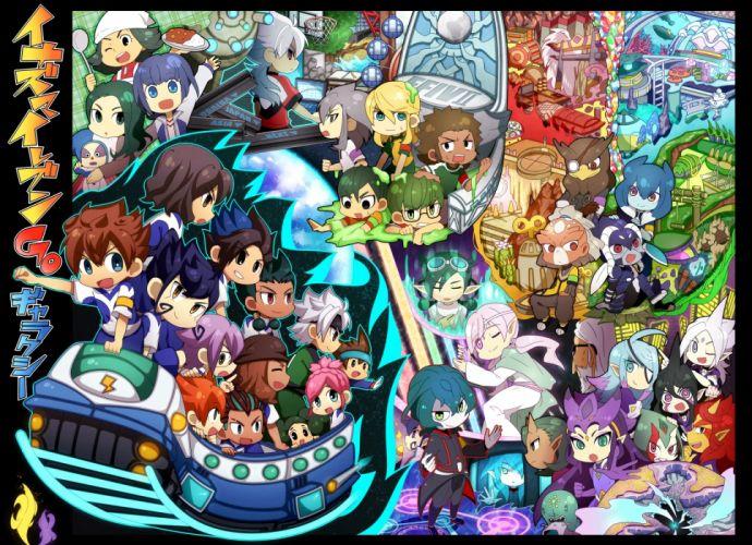 Inazuma Eleven GO chibi f wallpaper