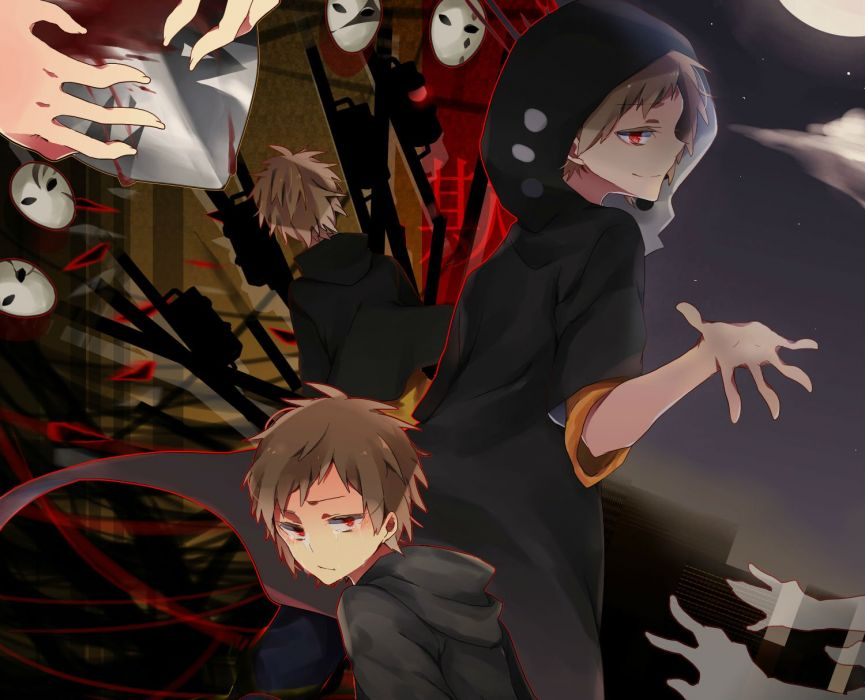 Kagerou Project Kano Shuuya dark blood      f wallpaper