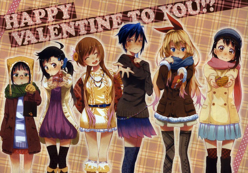 Nisekoi valentine    f wallpaper