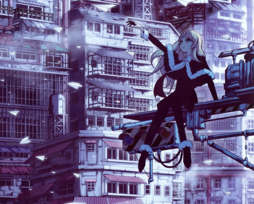 Vocaloid MAYU mood city     g wallpaper