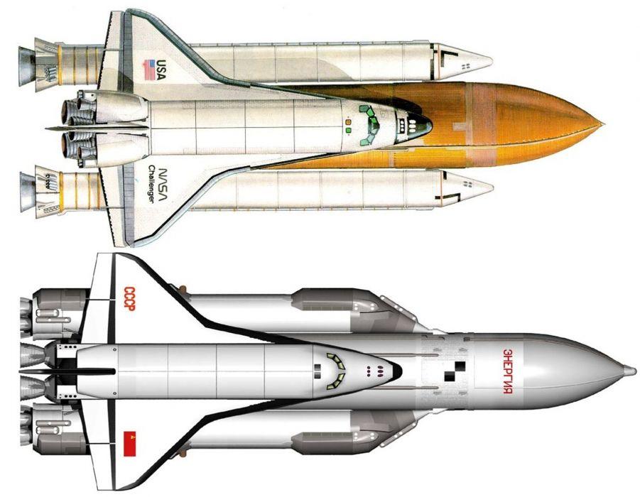 space shuttle russian buran space cccp urrs soviet challenger masa usa wallpaper
