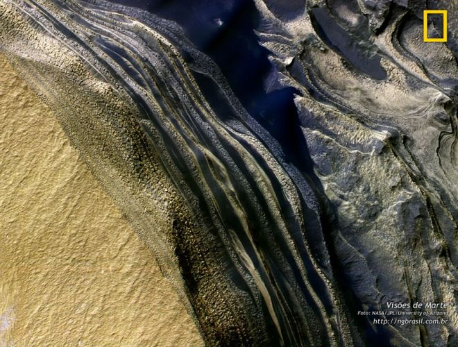 mars red planet space nasa jpl water ice wallpaper