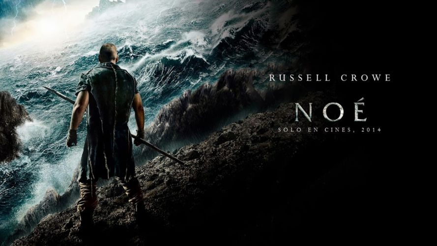 NOAH adventure drama religion movie film crowe poster ocean sea wallpaper
