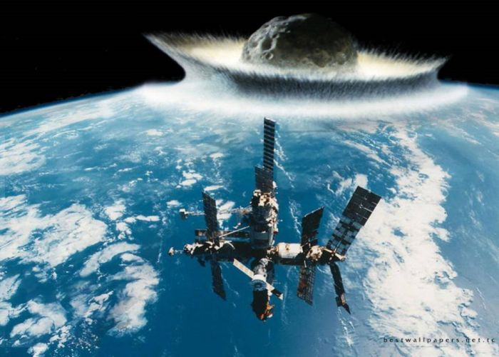 the end world mir space station asteroid wallpaper