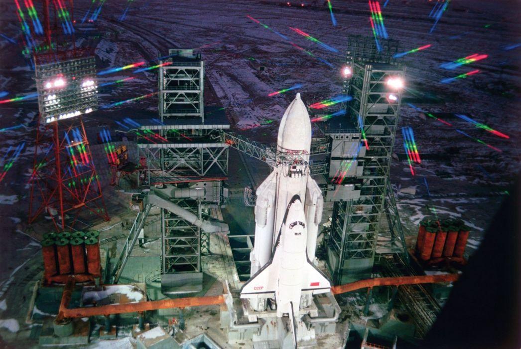 space shuttle russian space cccp urrs soviet buran baykunur launch base wallpaper
