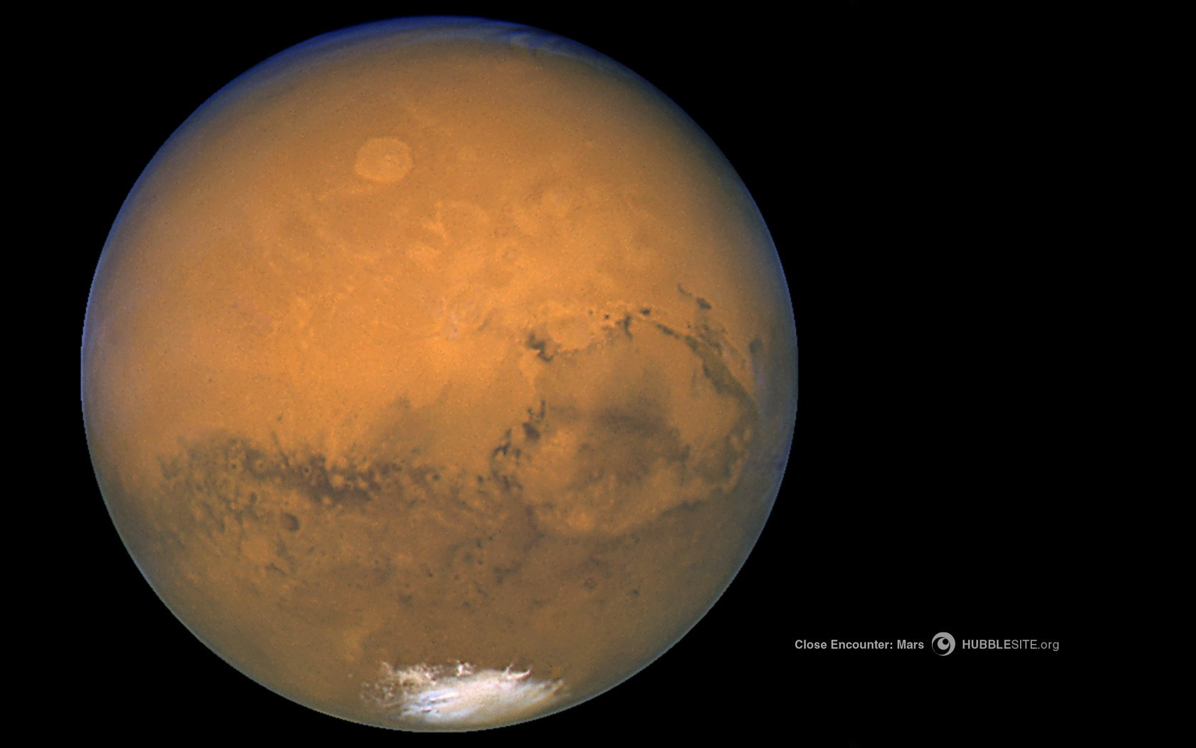 Mars Hubble Telescope Hubble Space Nasa Mars Red