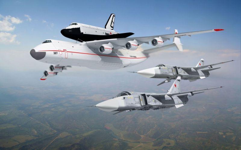 russian space cccp urrs soviet buran space shuttle antonov mirya sukhoi wallpaper