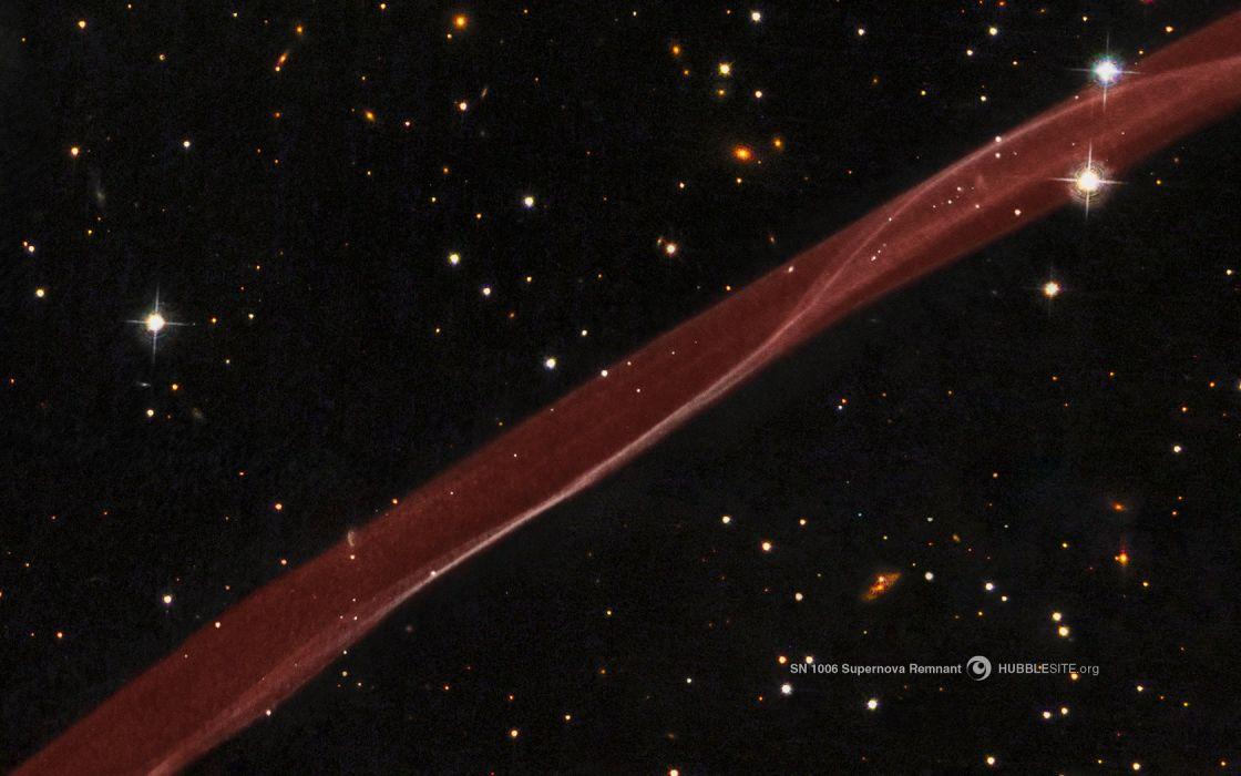 space nasa hubble supernova remmant sn 1006 wallpaper