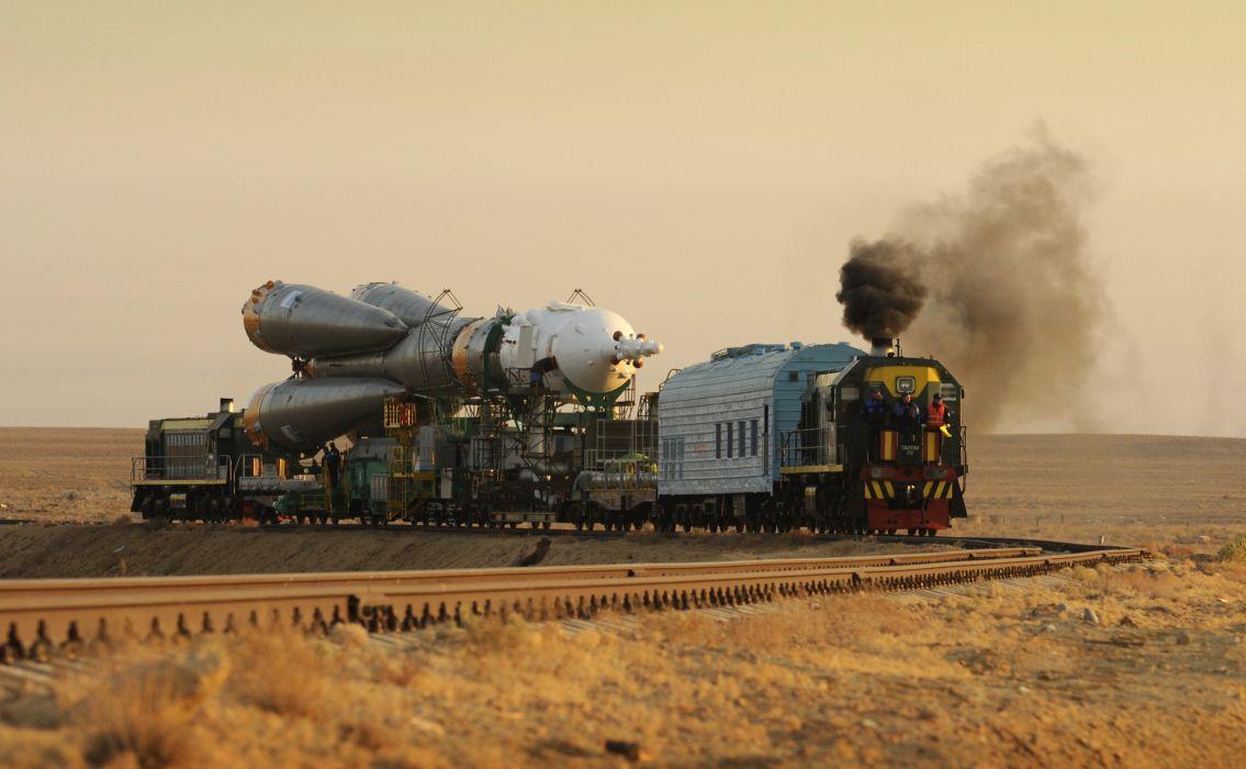 soyuz tma rocket russian space cccp urrs soviet baykunur (2) wallpaper