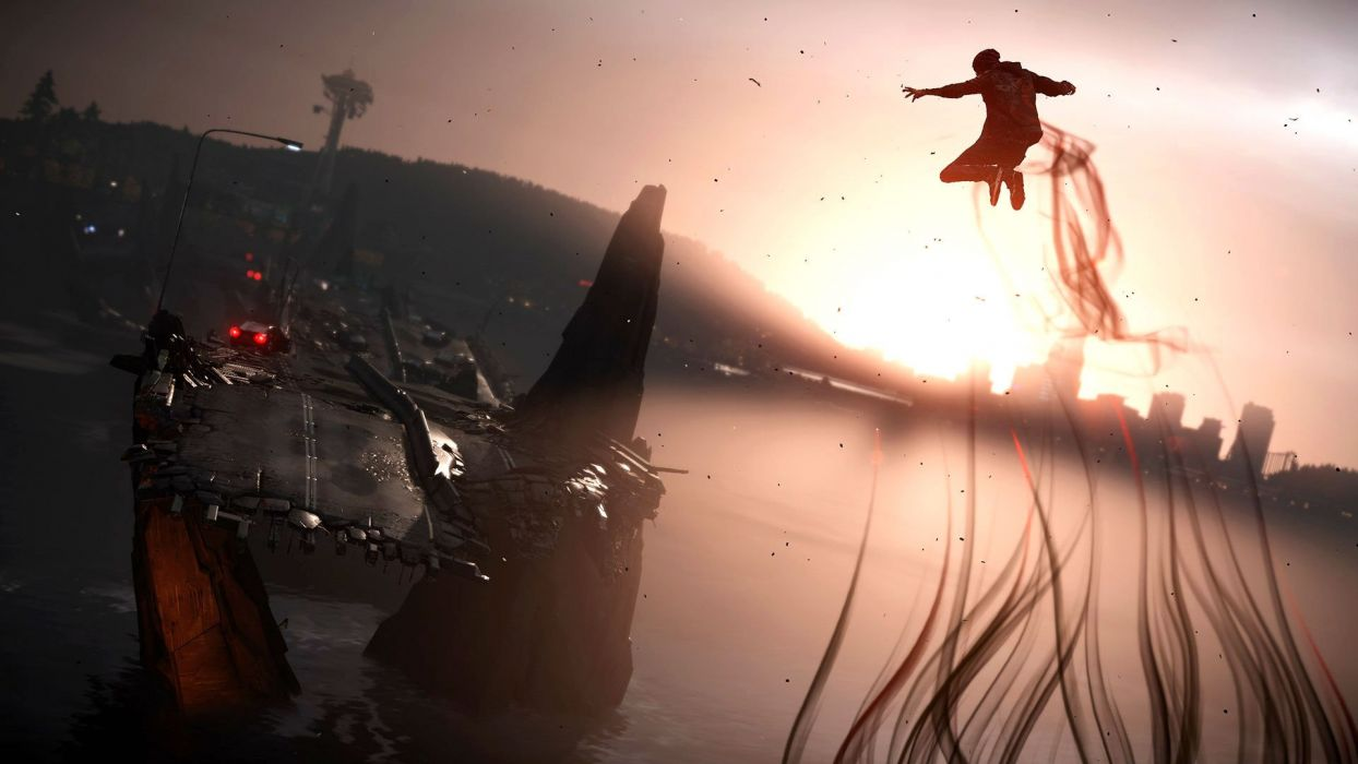 inFAMOUS SECOND SON sci-fi action adventure warrior wallpaper