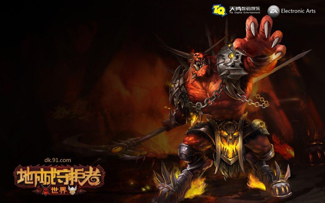 video games artwork MMORPG wallpaper