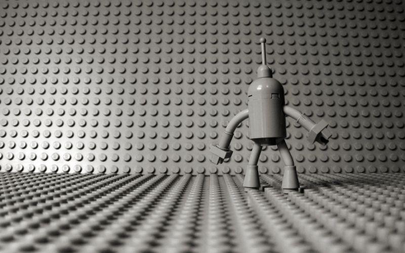Futurama Bender Legos wallpaper