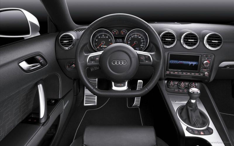 cars Audi interior vehicles Audi TT coupe Audi TT RS wallpaper