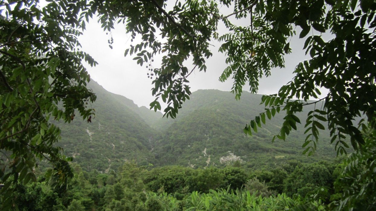 landscapes Haiti countryside wallpaper