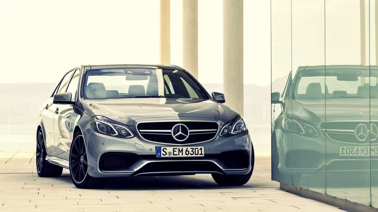 cars vehicles Mercedes-Benz Mercedes Benz E63 AMG automobile Mercedes Benz E63 BiTurbo wallpaper