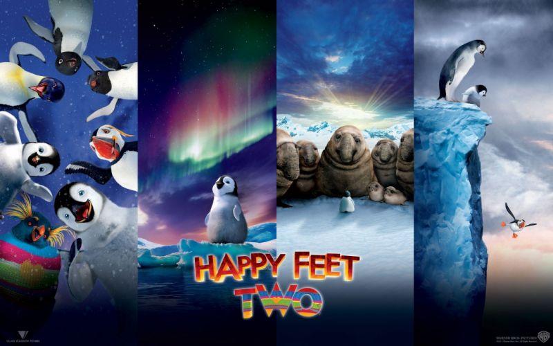 movies Warner Bros_ Happy Feet 2 wallpaper
