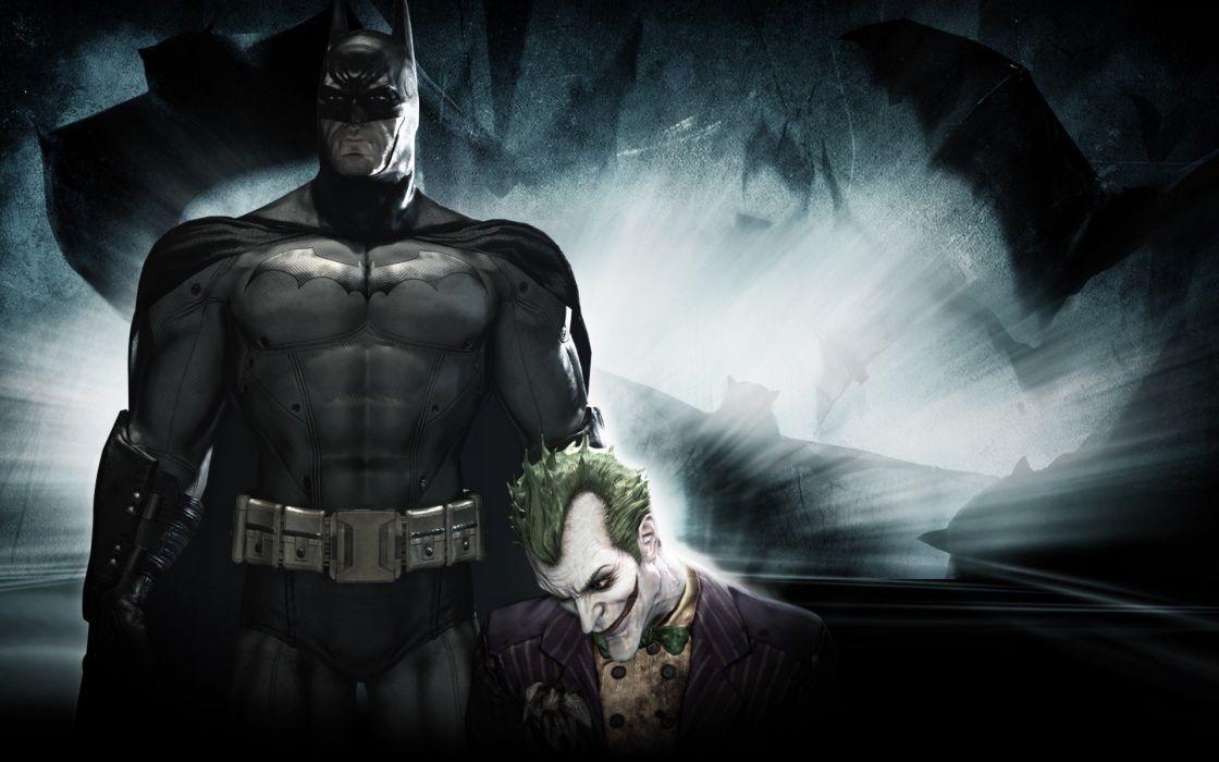 Batman video games DC Comics The Joker Arkham Asylum wallpaper