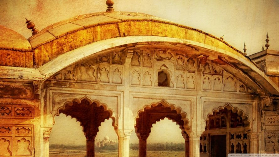 India Agra wallpaper