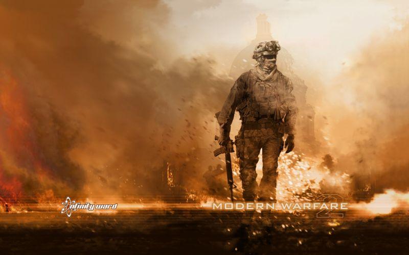 video games Call of Duty Call of Duty: Modern Warfare 2 wallpaper