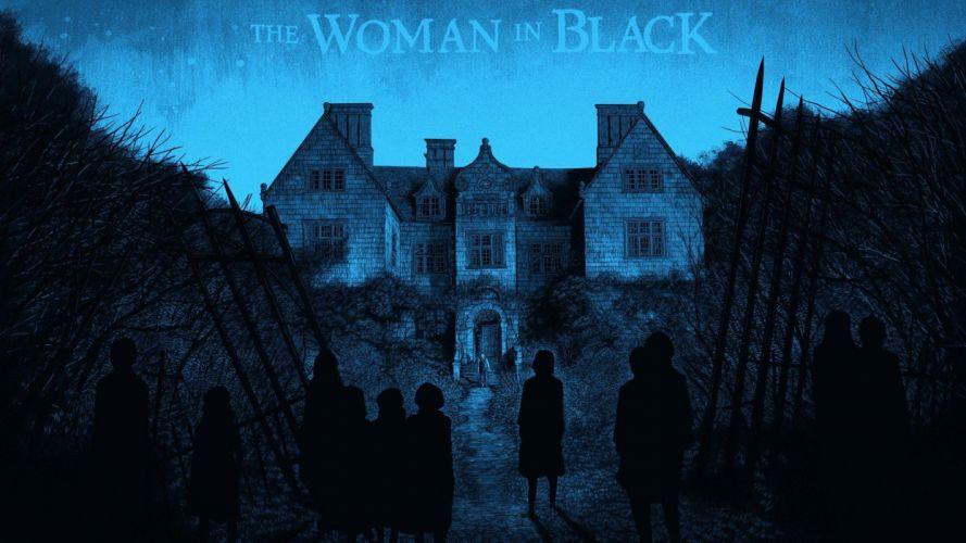 artwork Daniel Danger The Woman in Black wallpaper