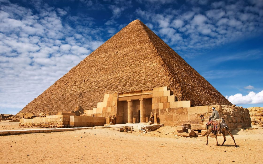 nature Egypt Giza pyramids wallpaper